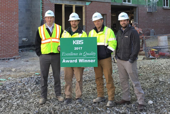 KBS Teams Recognized for High Quality and Safety Standards